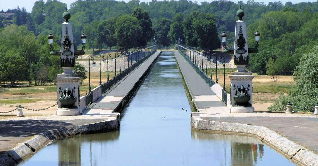 Pont-canal de Briare. © MOSSOT, Wikimedia commons, CC BY 3.0