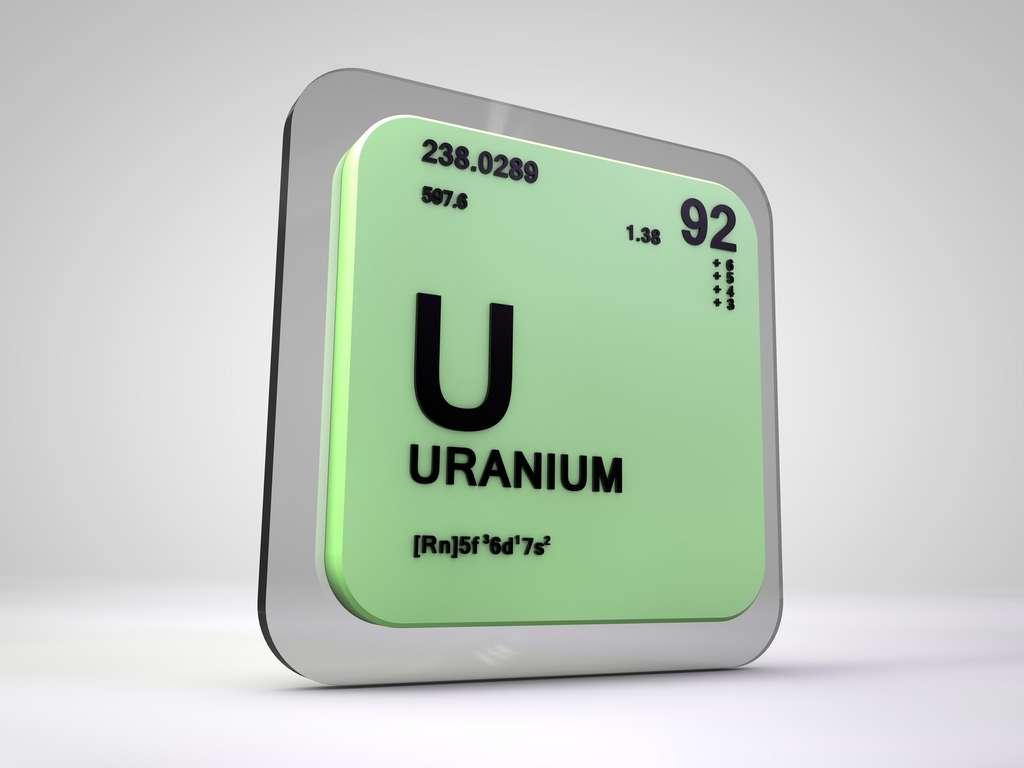 De numéro atomique 92, l'uranium est l'élément le plus lourd présent à l'état naturel sur Terre. © viking75, Fotolia