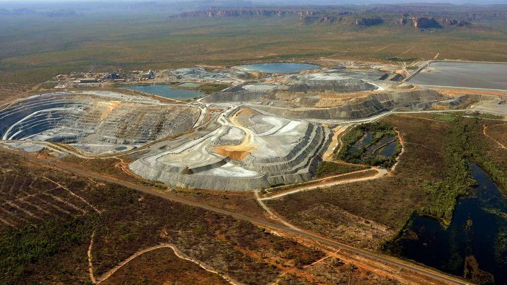 La mine d'uranium Ranger, dans le Parc national de Kakadu, en Australie