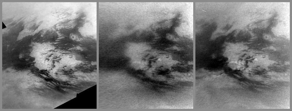Pluies de méthane sur la région Adiri de Titan