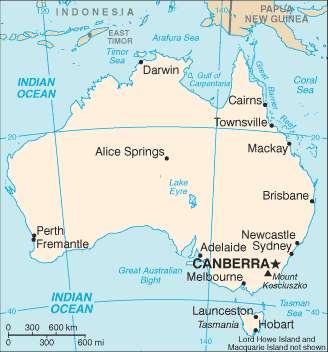 La plupart des grandes villes d'Australie sont concentrées dans le sud et l'est du pays, qui ne sont pas désertiques. C'est le point de départ idéal pour un voyage en Australie. © DR