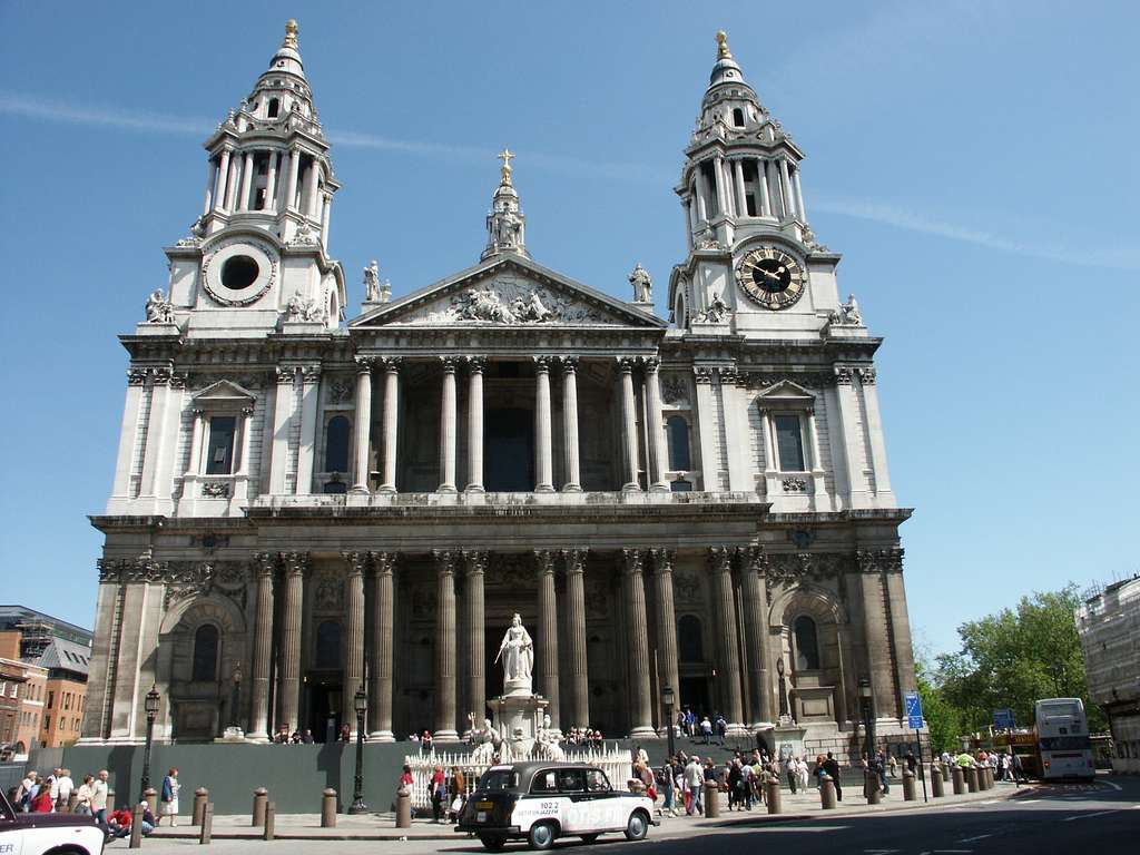 La cathédrale Saint-Paul de Londres. © Olivier Bruchez, Flickr