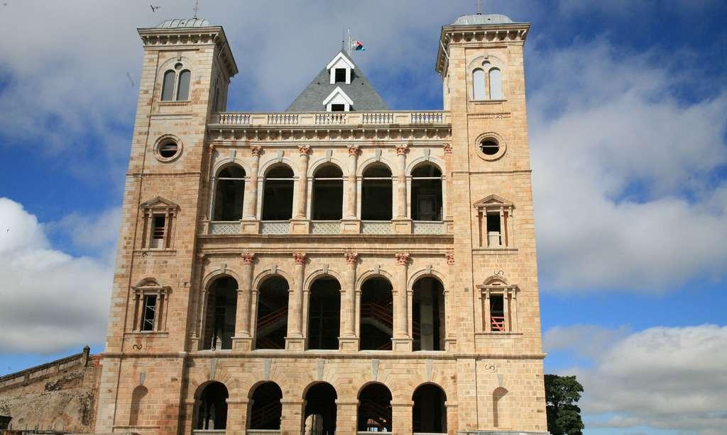 Le palais de la reine, à Tananarive