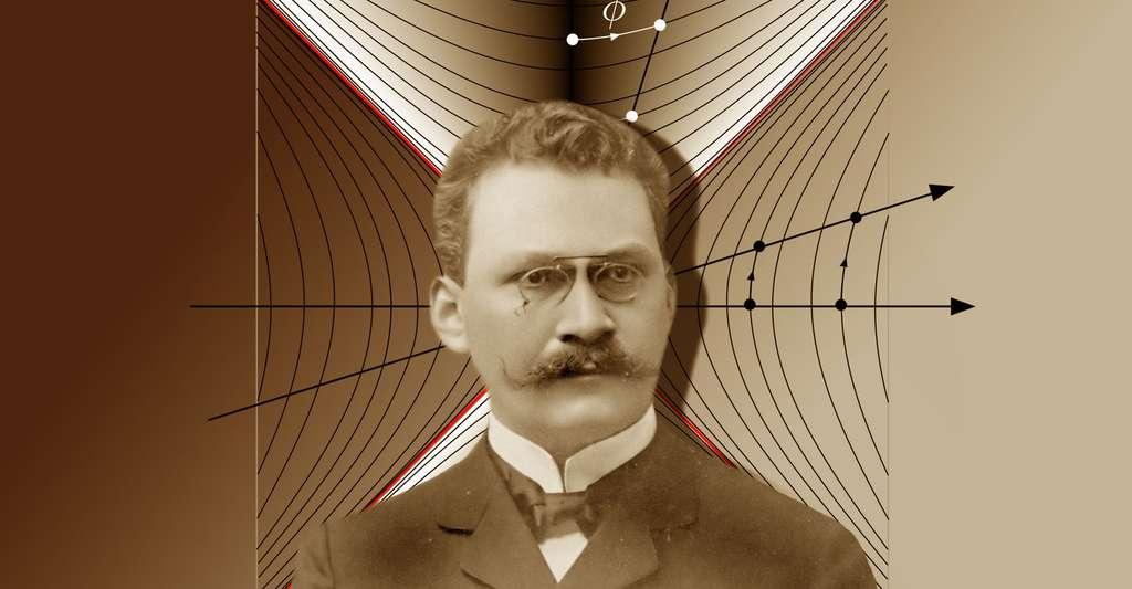 Découvrez comment Minkowski concevait l'espace-temps. © Hermann Minkowski, Maschen, DP