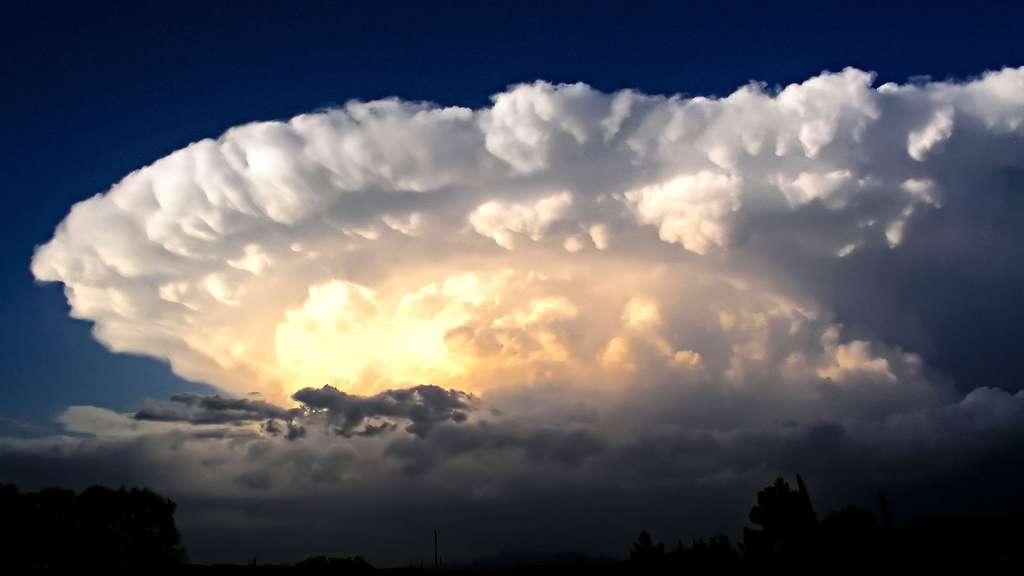Un orage supercellulaire dévastateur