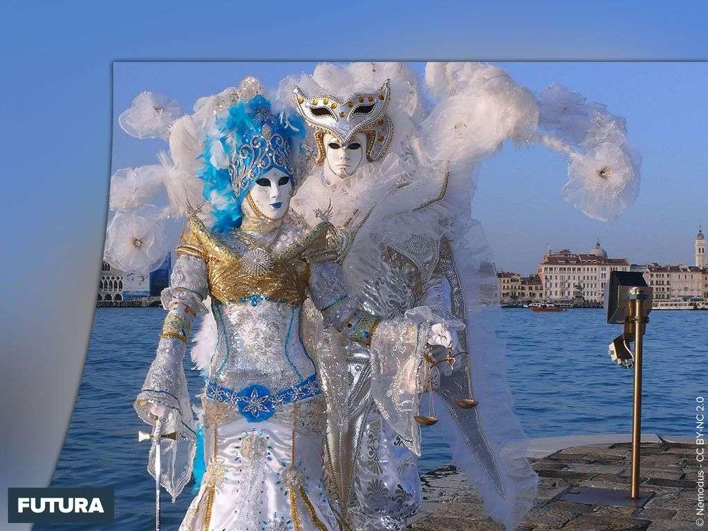 Carnaval de Venise - Masque argent