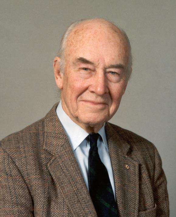John Tuzo Wilson (24 octobre 1908-15 avril 1993). © University of Toronto