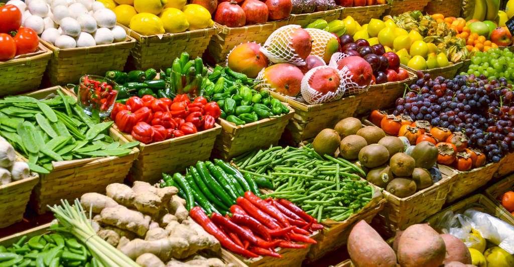 Des chercheurs ont découvert qu'une cure de fruits et légumes peut favoriser la réponse immunitaire et limiter le développement de l'asthme… chez la souris au moins. © Aleksandar Mijatovic, Shutterstock
