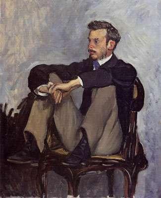 Renoir par Bazille Musée des Beaux-Arts