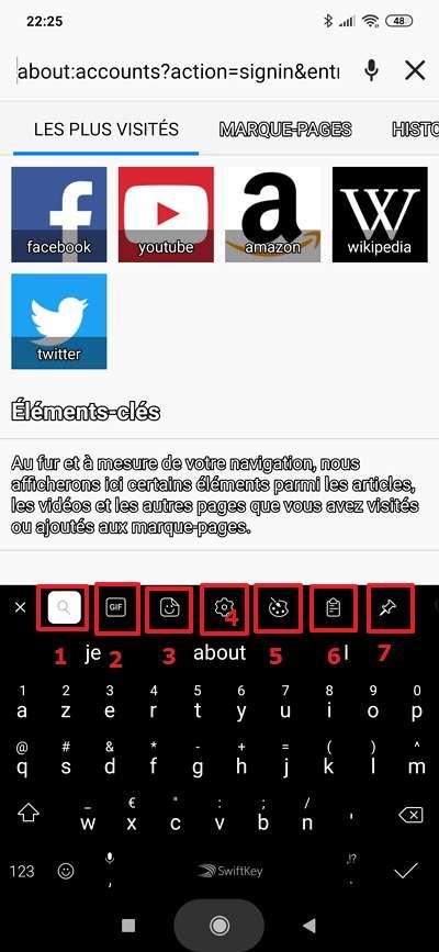 Toutes les fonctions sont accessibles depuis la barre de menu. © Microsoft