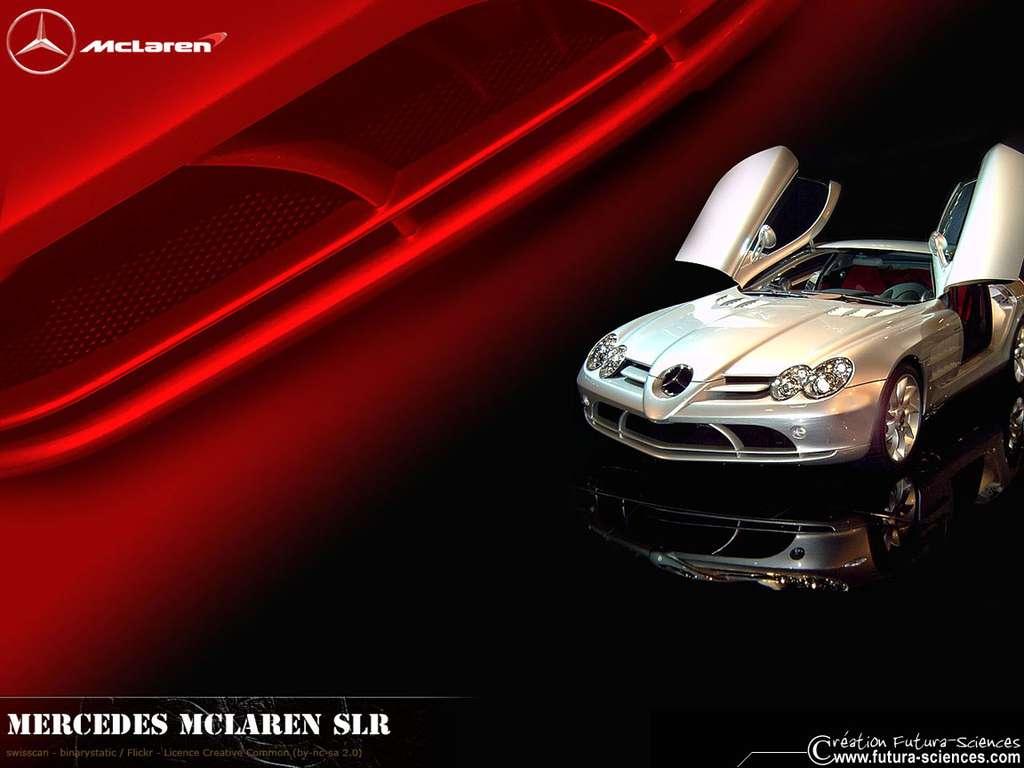 Mercedès McLaren SLR