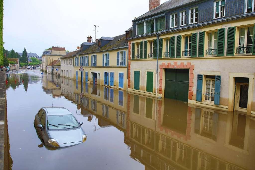 Les enfants nés en 2015 connaîtront 3,4 fois plus d'inondations que ceux nés en 1960. © Nicolas Duprey, Département des Yvelines, Flickr