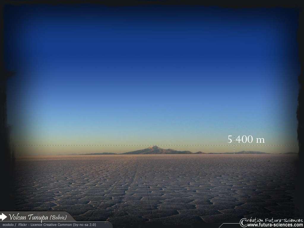 Volcan Tunupa Bolivie
