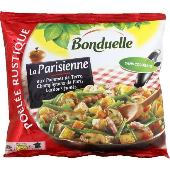 Les poêlées de légumes surgelés sont exagérément riches en graisses. © Bonduelle