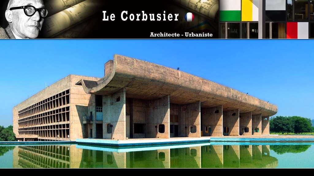 Le Corbusier : visionnaire et urbaniste, en Inde