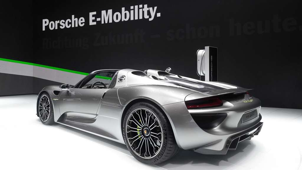 La Porsche 918 Spyder, la voiture de sport électrique