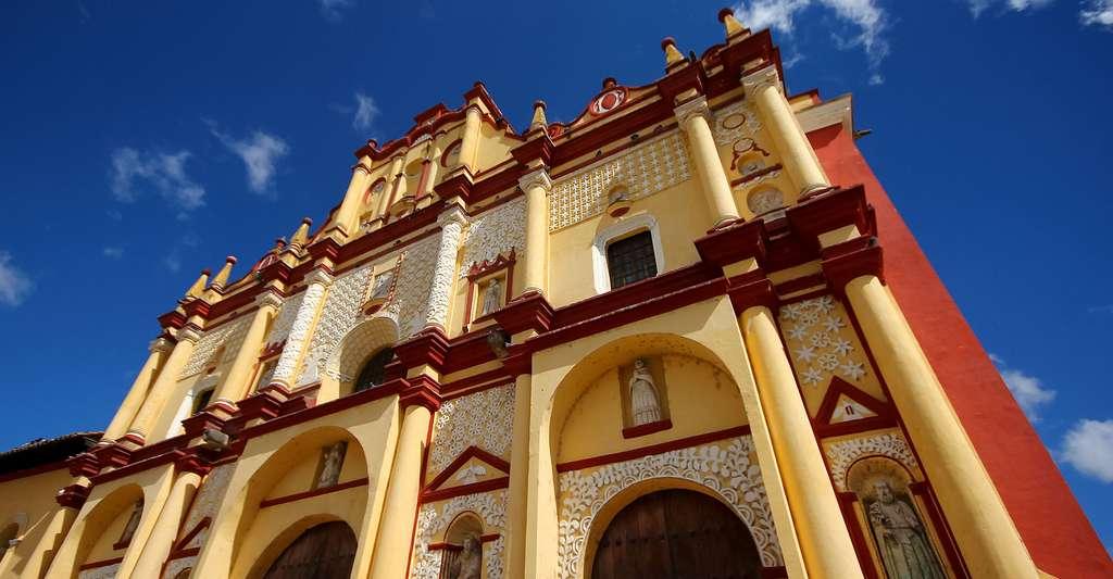 L'église de San Cristobal de las Casas, Chiapas, México. © ·Júbilo·haku· CC BY-NC 2.0