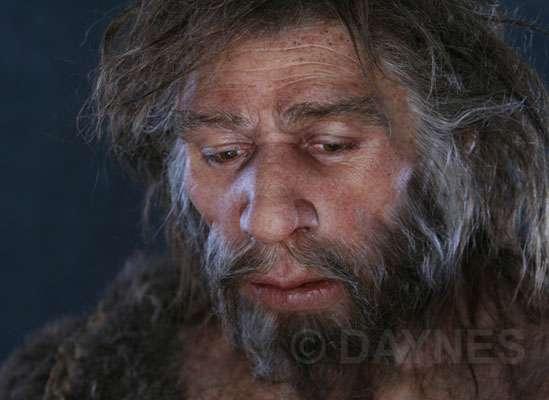 Néandertal a vécu durant 300.000 ans. Ici, un Néandertalien du Proche-Orient (Shanidar, Iraq). © Atelier E. Daynes, tous droits réservés