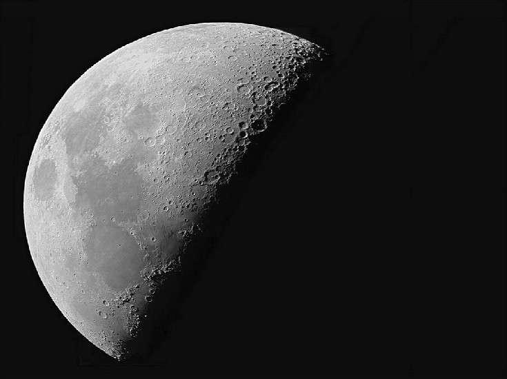 La lune un soir de juin