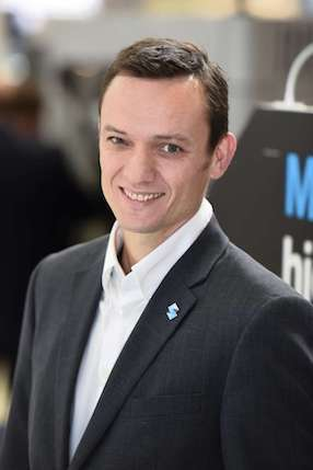 Yann Raguel, directeur des solutions de fabrication pour la région Europe chez Stratasys. © Stratasys