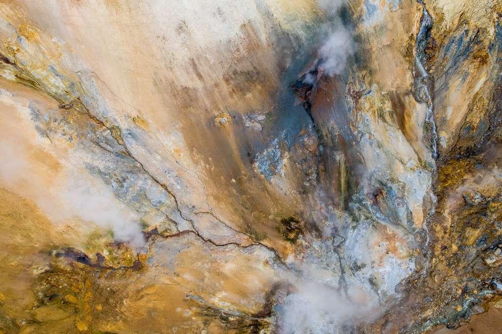 Les beautés de l'Islande vues du ciel