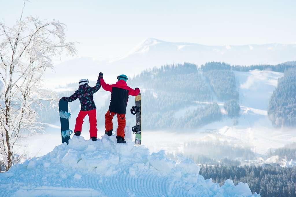 10 termes clés pour parler comme les snowboardeurs. © anatoliy_gleb, fotolia