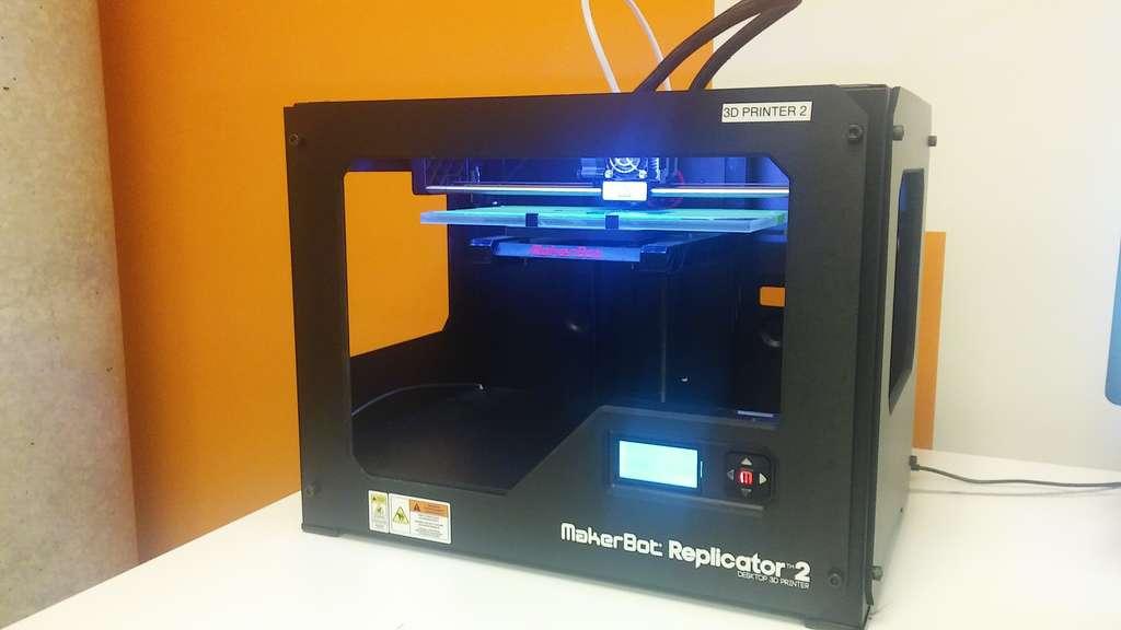 L'imprimante 3D Makerbot Replicator. © OhanaUnitedT, Wikipedia