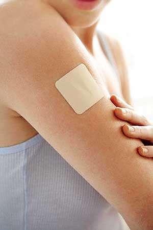 Le patch antitabac fait partie des traitements substitutifs nicotiniques. © DR