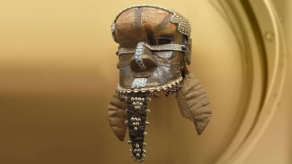 Masque Bwoom de République démocratique du Congo