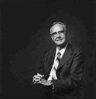 Le prix Nobel de physique Luiz Walter Alvarez. Crédit : Paul Bishop