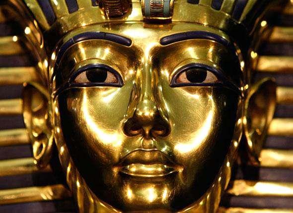 Crâne de Toutânkhamon. La momie de l'enfant-pharaon est toujours conservée dans la vallée des rois. © Rémi Noyon, CC by-sa 2.0