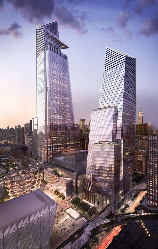 Hudson Yards, un immense complexe immobilier au cœur de New York. © Hudson Yards