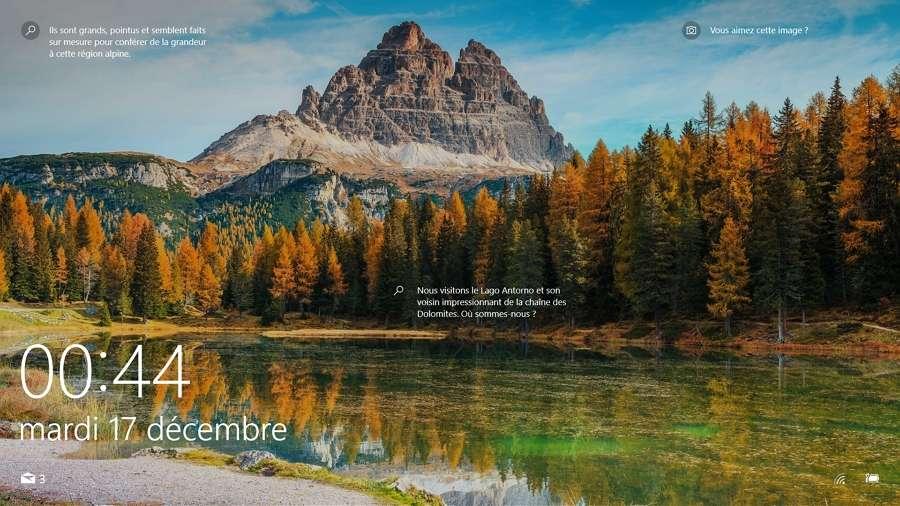 Futura vous explique comment passer de l'écran de veille à vos activités sans mot de passe. © Microsoft