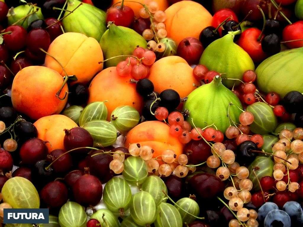 Les saveurs de l'été, cerises, groseilles, figues..