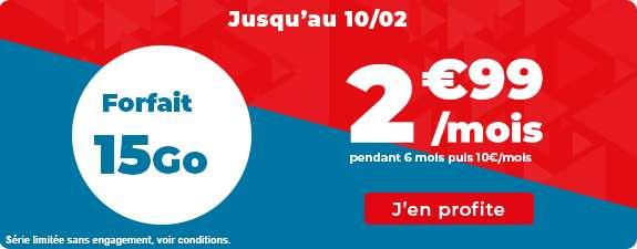 Forfait 15 Go à prix cassé © Auchan Télécom
