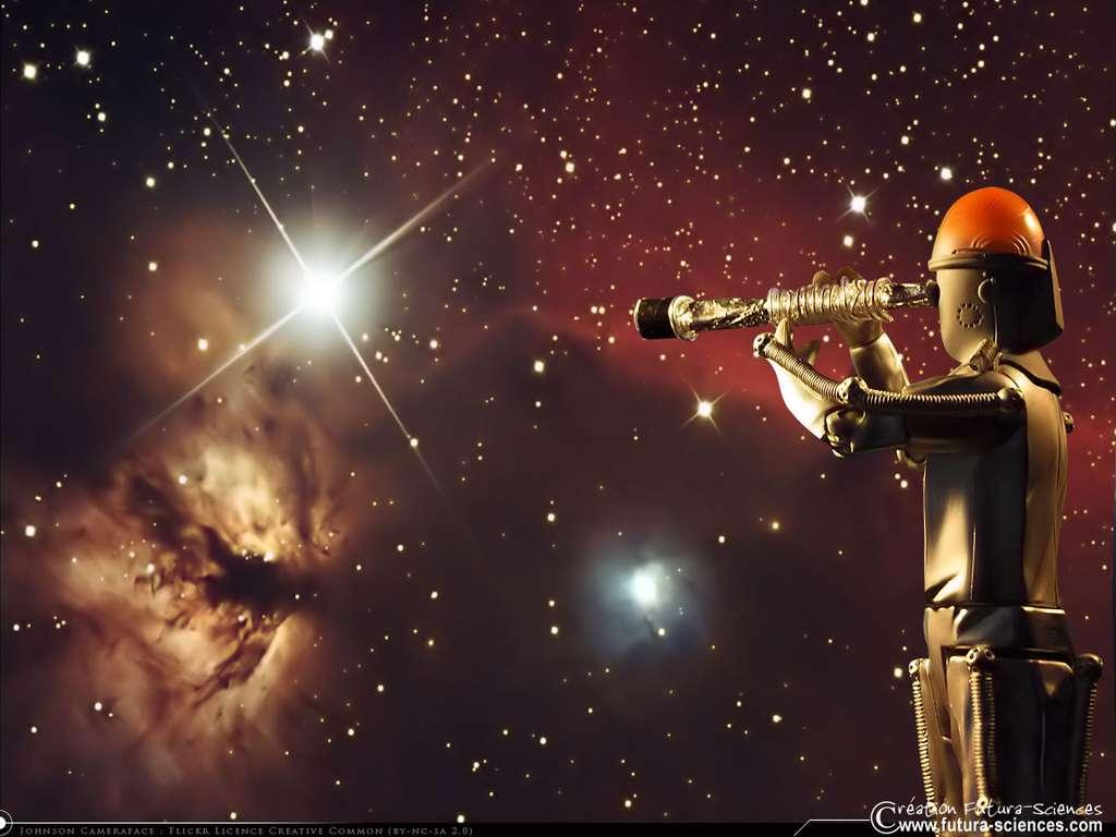 Robot astronome