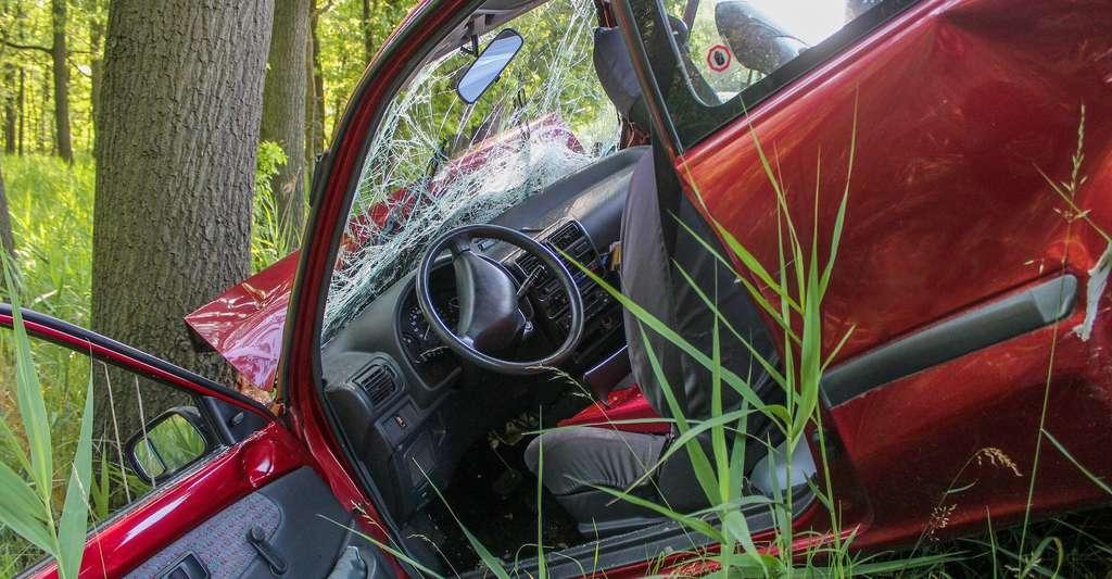 Un accident de la route peut provoquer chez une personne une peur intense qui s'inscrit dans sa mémoire et la plonge dans un état de stress post-traumatique. En identifiant les circuits spécifiques à l'œuvre dans le cerveau, les chercheurs espèrent trouver de nouvelles solutions thérapeutiques. © Rico_Loeb, Pixabay License