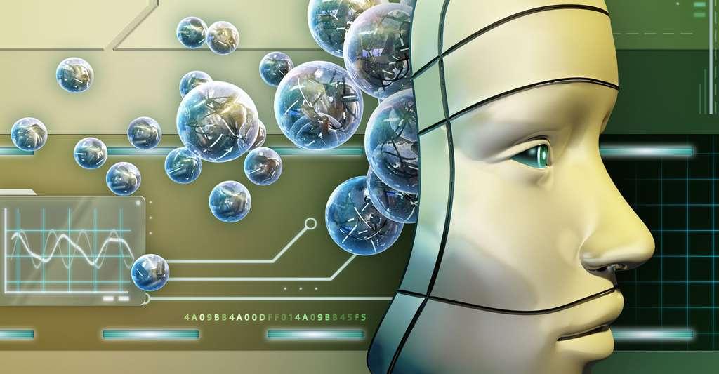 Masque de robot. © Andrea Danti, Shutterstock