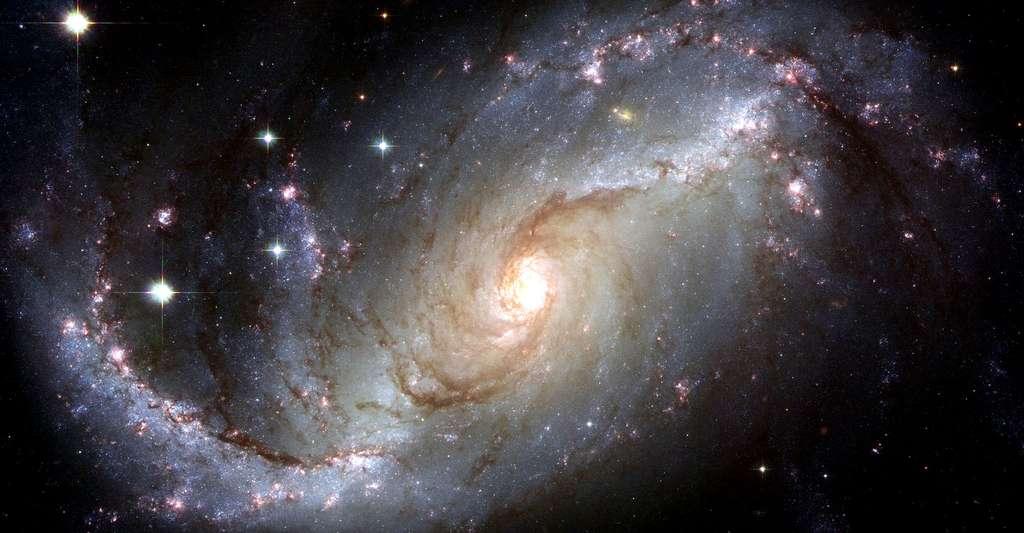 L'infini : mystères et limites de l'Univers. Ici, une galaxie spirale. © WikiImages, Pixabay, DP