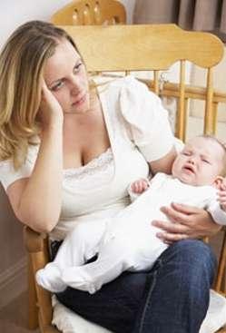La dépression postpartum se déclenche après la naissance de l'enfant, quelques jours ou quelques mois plus tard. © Fotolia