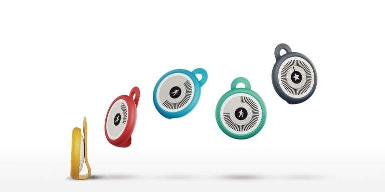Le Withings Go est un traqueur d'activité doté d'un écran E-Ink à faible consommation. L'autonomie annoncée est d'environ 8 mois. © Withings