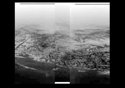 Un rivage sur Titan ?