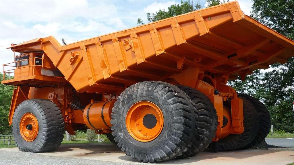 Le camion géant Lectra Haul M200