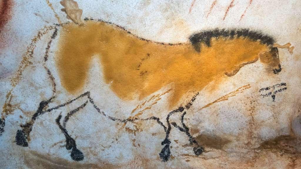 Un cheval « chinois » à Lascaux