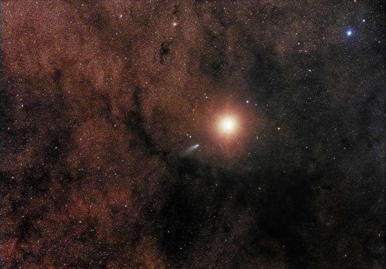 La comète C/2013 A1 rencontre Mars