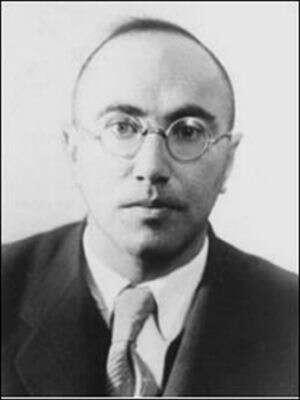 Zeldovitch au moment où il créait avec Sakharov les armes nucléaires russes. Crédit : http://wsyachina.narod.ru/history/nuclear_testing_5.html