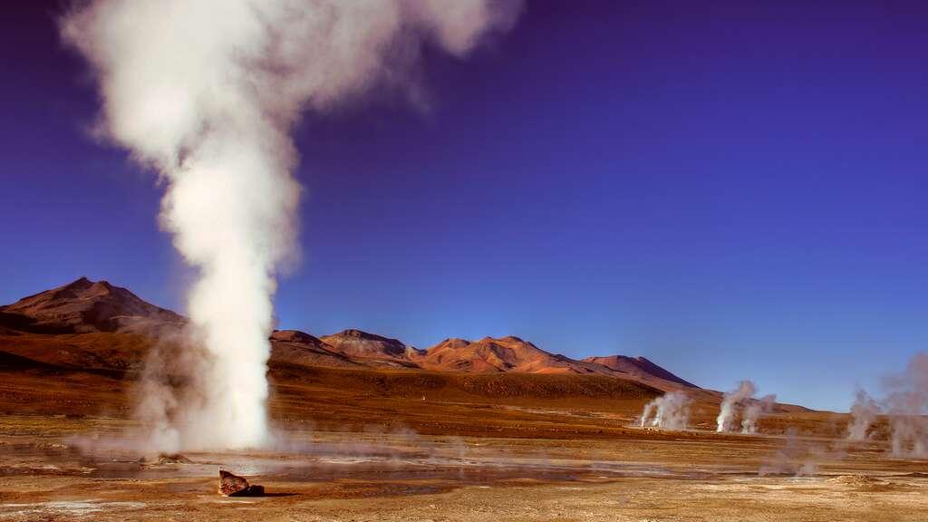 Les geysers d'El Tatio, au Chili