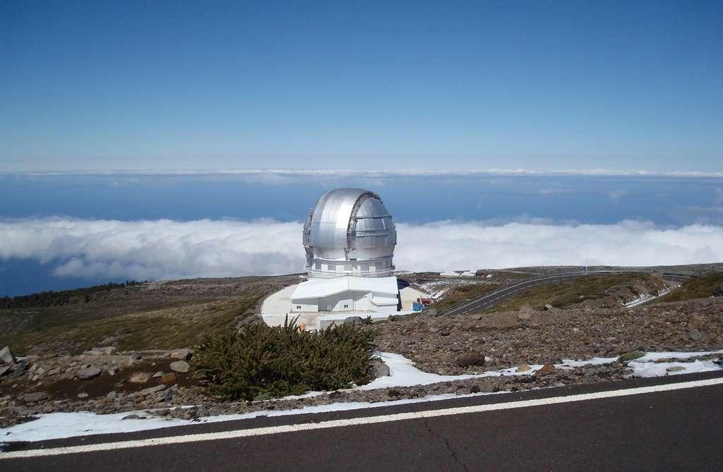 Le GranTeCan, un télescope au-dessus des nuages