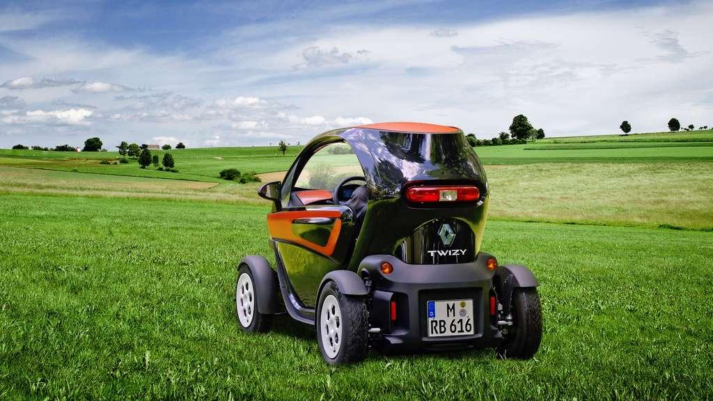 La Renault Twizy ZE, une voiture électrique urbaine