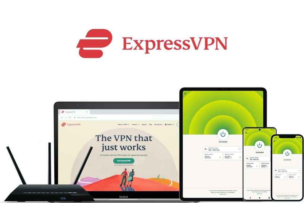 Avec ExpressVPN, profitez de 49 % de réduction avec trois mois offerts. © ExpressVPN